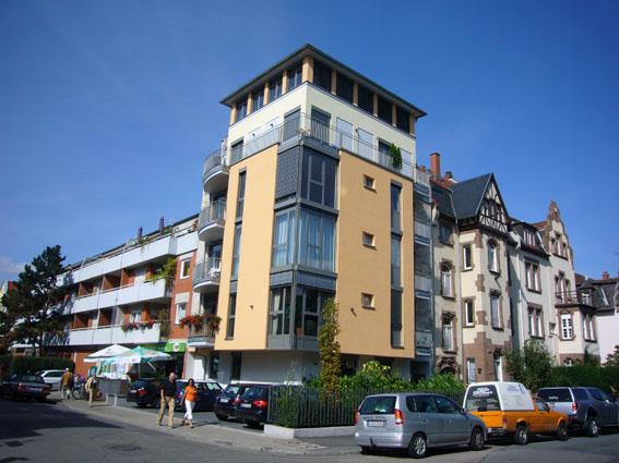 eckbebauung wohnbau mmf architekten architektur aus heidelberg. Black Bedroom Furniture Sets. Home Design Ideas