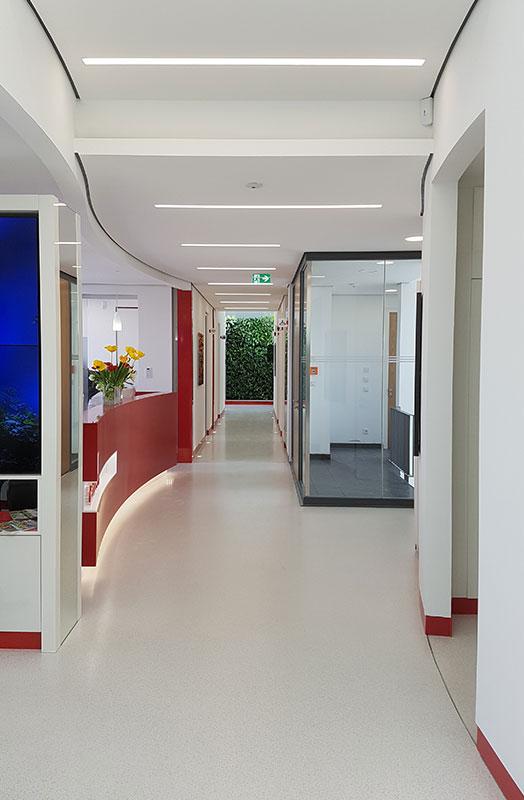 Innenarchitektur – Ärztehaus